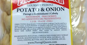 POTATO&ONION  PIEROGI $5.99