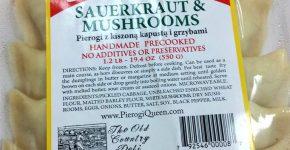 SAUERKRAUT&MUSHROOM  PIEROGI $6.99