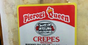 CREPES WITH SWEET CHEESE $4.99